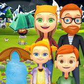 Kids Summer Camp Adventure icon