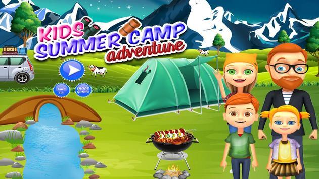 Kids Summer Camp Adventure poster