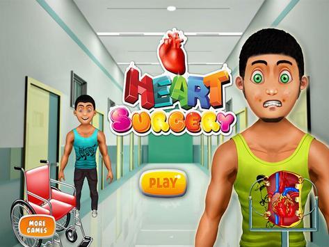 Heart Surgery Doctor Games apk screenshot