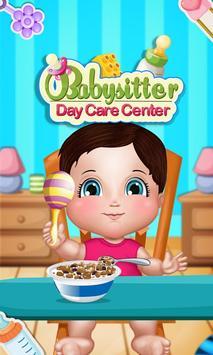 Babysitter Daycare Centre poster