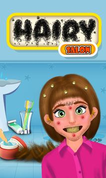 Hairy Salon - Face Makeover poster