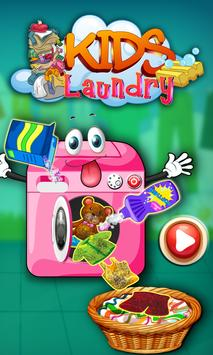 Baby Kids Laundry poster