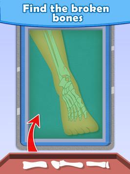 Leg Doctor - Surgery Games apk screenshot