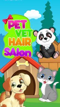 Pet Vet Hair Salon poster