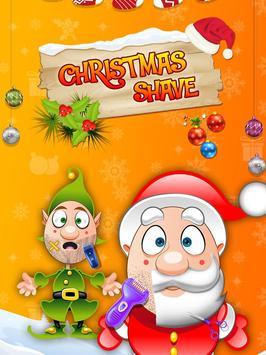 Santa Christmas Shave screenshot 1