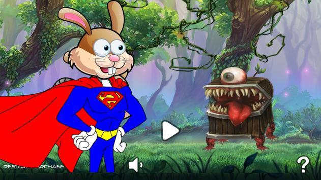 Super Bunny Rabbit Adventure apk screenshot
