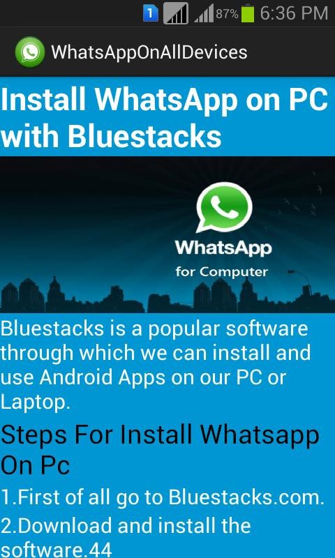install whatsapp on alldevices for android  apk download