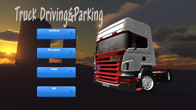 Real Truck Driving & Park 2018 screenshot 8