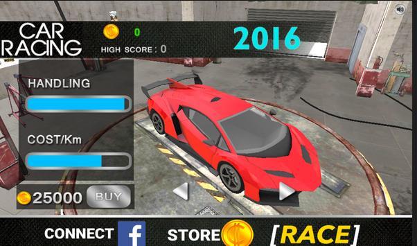 Sports Car Racing 2016 apk screenshot