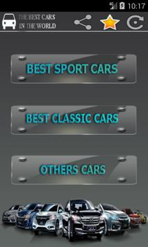 Best cars in the world poster
