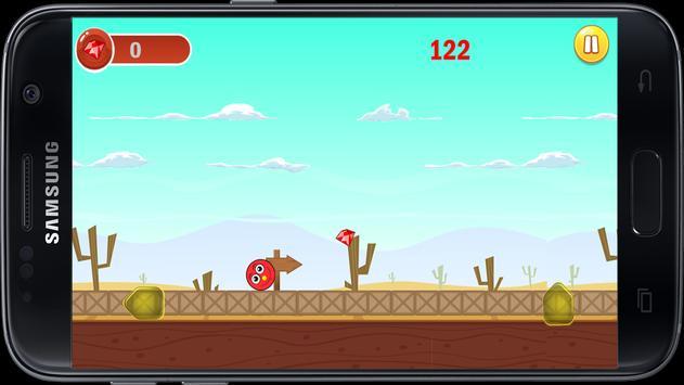 Dune- Red Jumping Ball screenshot 1