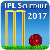 Schedule for IPl 2017 icon