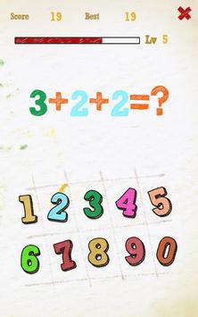 Arithmetic poster