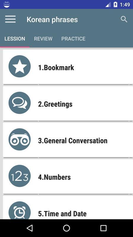 Common korean phrases apk download free education app for android common korean phrases poster m4hsunfo