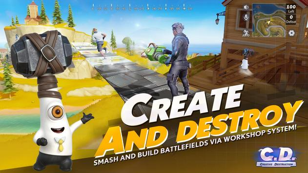 Creative Destruction captura de pantalla 4