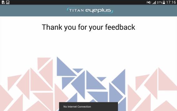 Customer Speak - Titan EyePlus apk screenshot