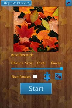 Leaf Jigsaw Puzzles 4 In 1 poster