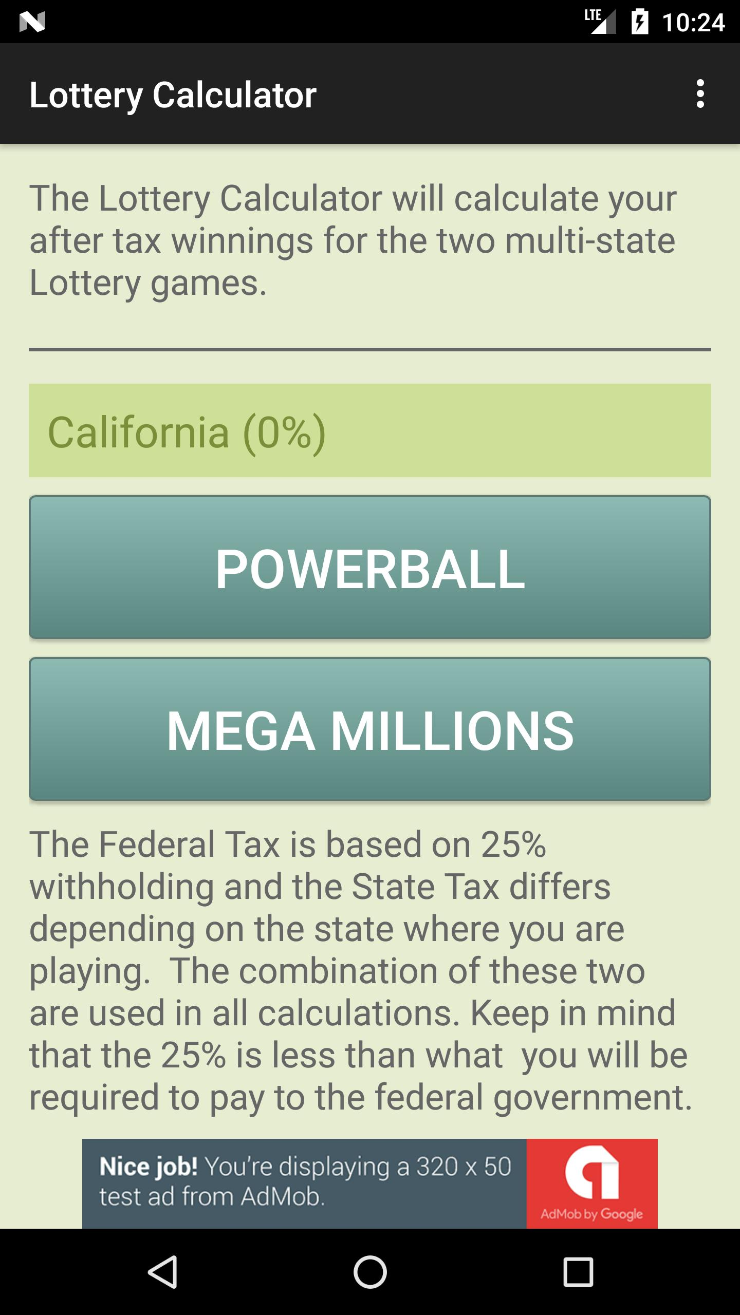 Lottery Calculator for Android - APK Download