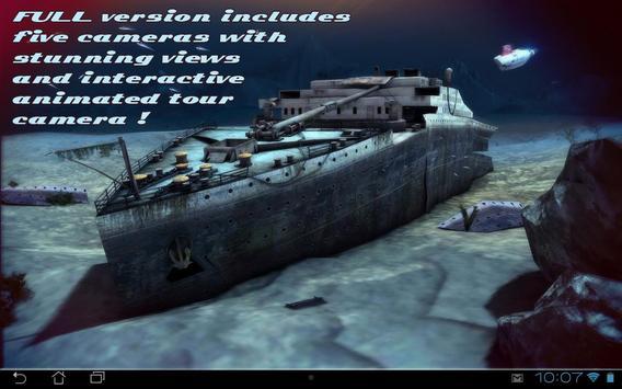 Titanic 3D Free live wallpaper apk screenshot