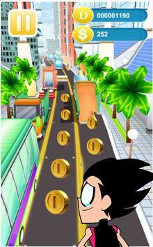 Titans Run  Go Rush poster