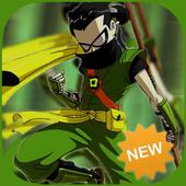 Titans go ninja adventure icon