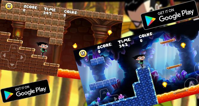 Titans go ninja adventure apk screenshot