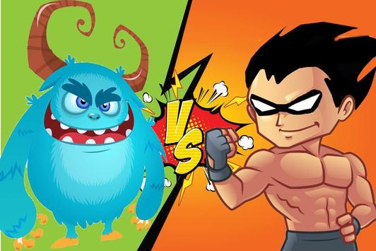 Titans go against monsters dash apk screenshot