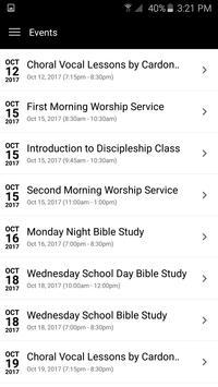 Christian Fellowship Baptist Church apk screenshot