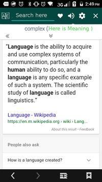 Smart Afrikaans Verb apk screenshot