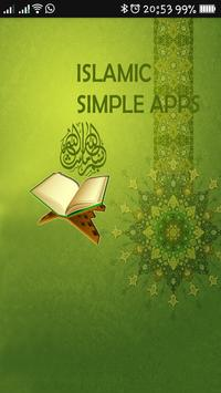 Islamic Simple App poster