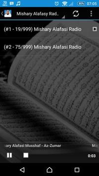 Quran Audio Mishary Alafasy screenshot 1