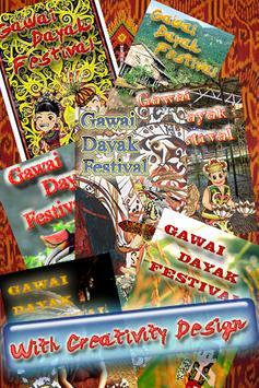 Gawai Dayak Festival Fun poster