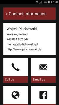 Wojtek Pilichowski apk screenshot