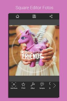 Square Editor Fotos apk screenshot