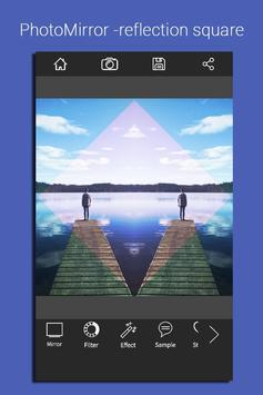 PhotoMirror -reflection square apk screenshot