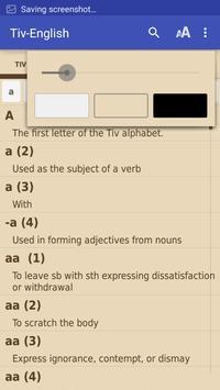 Tiv Dictionary 2016 apk screenshot