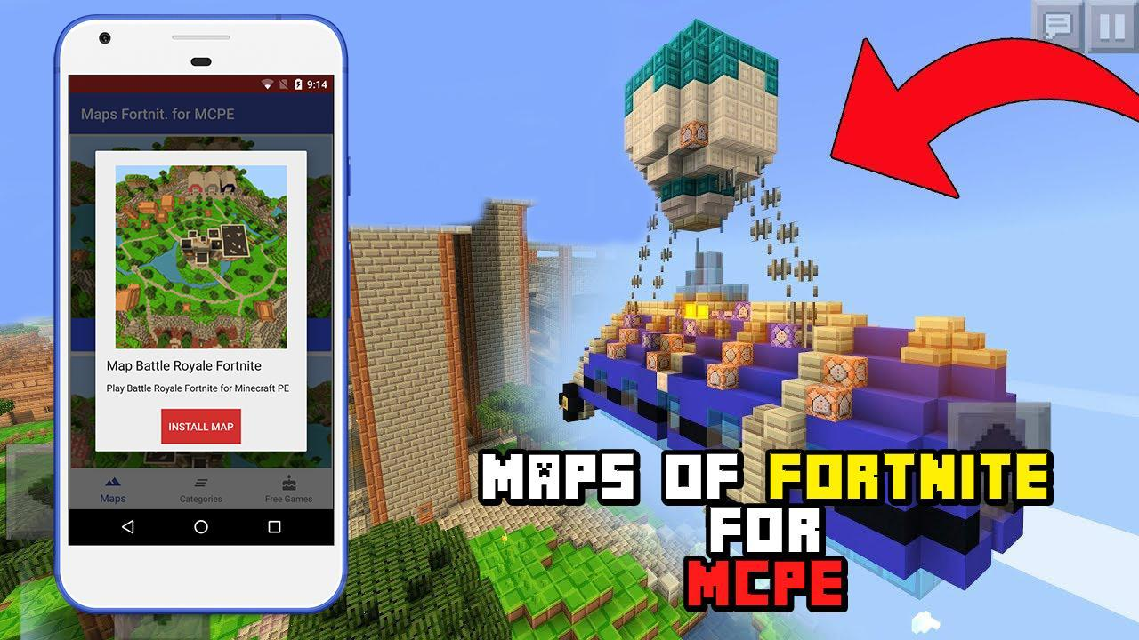 Fortnite Emote Minecraft Mod Mod Of Fortnite Battle Royale For Mcpe For Android Apk Download