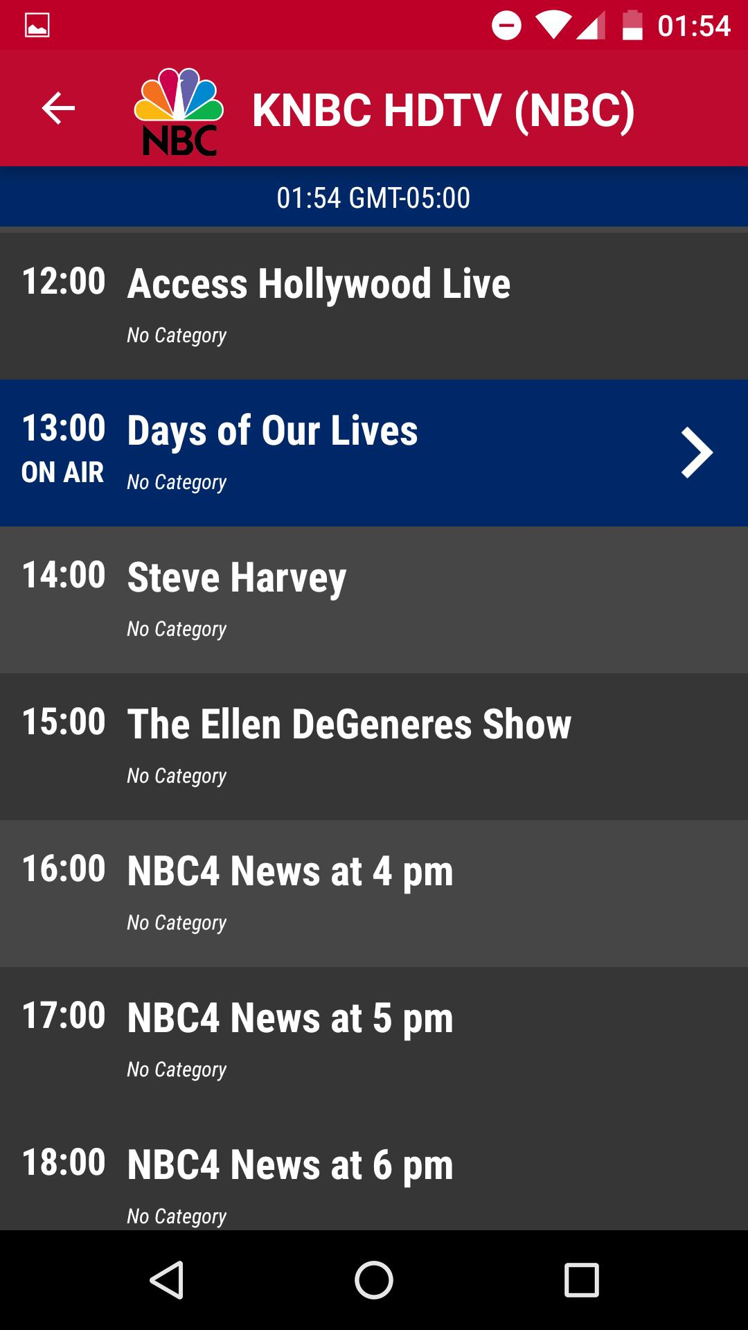 USA TV Today - Free TV Schedule for Android - APK Download