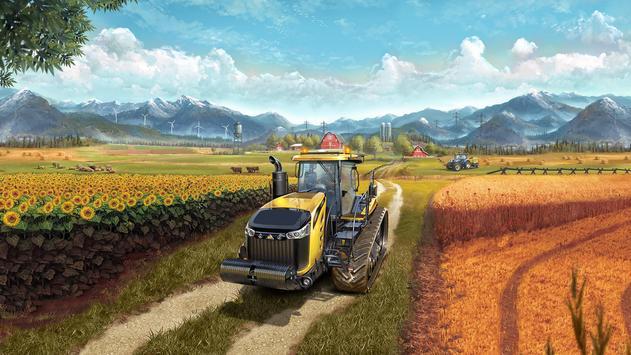 Tips Farming Simulator Pro 18 poster