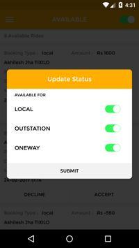 Tixilo Cab Driver apk screenshot