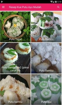 Resep Kue Putu Ayu Mudah & Enak screenshot 4