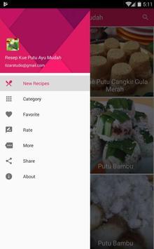 Resep Kue Putu Ayu Mudah & Enak screenshot 1