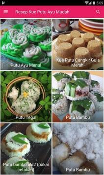 Resep Kue Putu Ayu Mudah & Enak screenshot 2