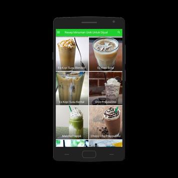 Resep Minuman Unik Untuk Dijual screenshot 6