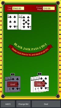 Blackjack Star Free screenshot 1