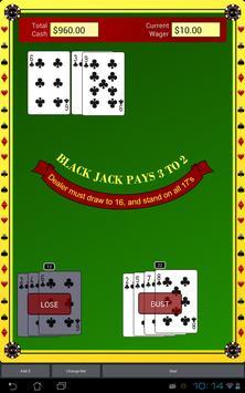Blackjack Star Free screenshot 3