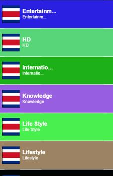 Costa Rica TV Sat Info poster