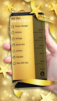 Gold Glitter Theme 2018 apk screenshot