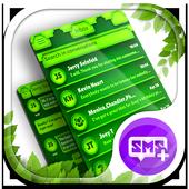Nature Green HD SMS Plus Theme icon