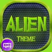 Alien Theme SMS Plus icon